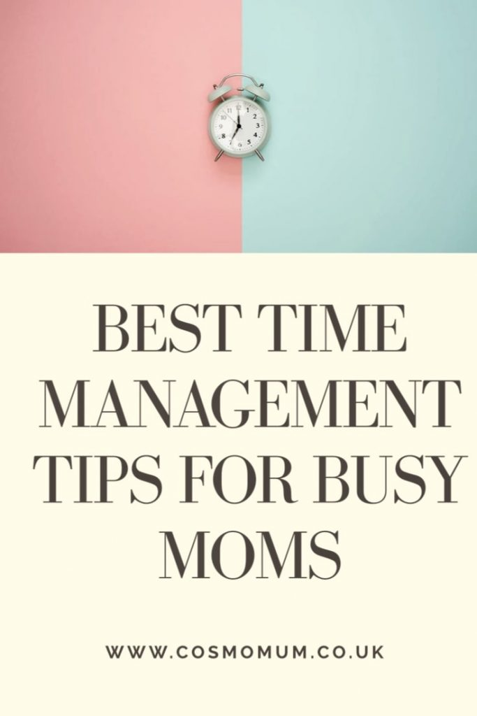 Time saving tips and time management hacks for busy moms/mums