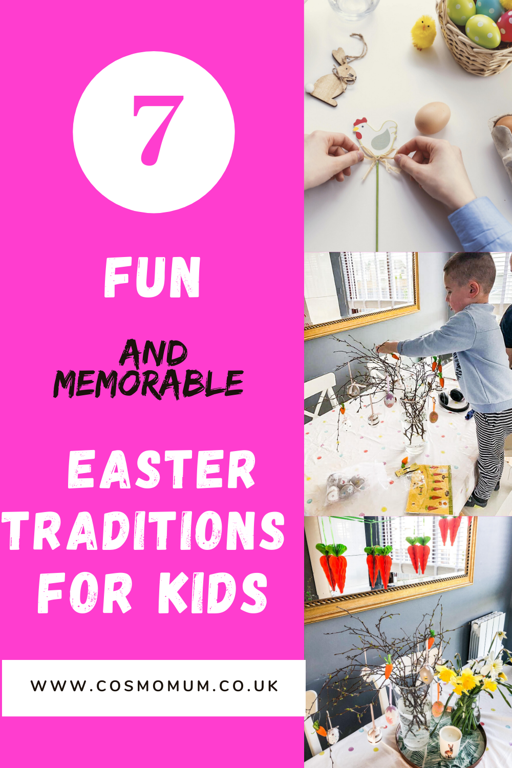 Easter traditions for kids, Easter activities, Cosmo Mum Blog