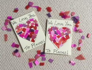 Kids Craft Valentine's Cards
